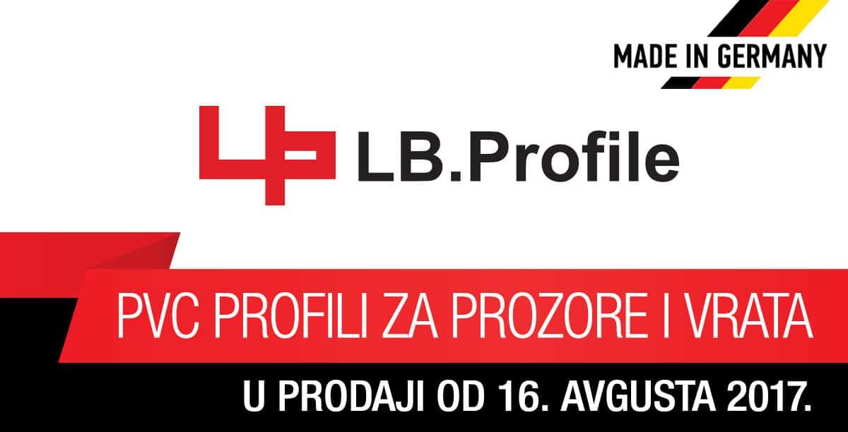LB.Profile PVC profili za prozore i vrata