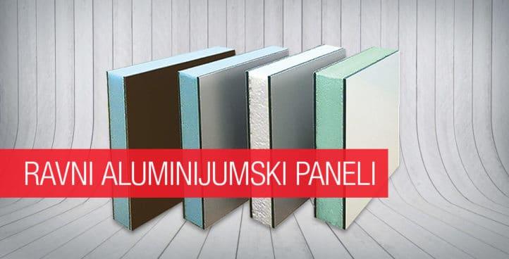 Ravni aluminijumski paneli