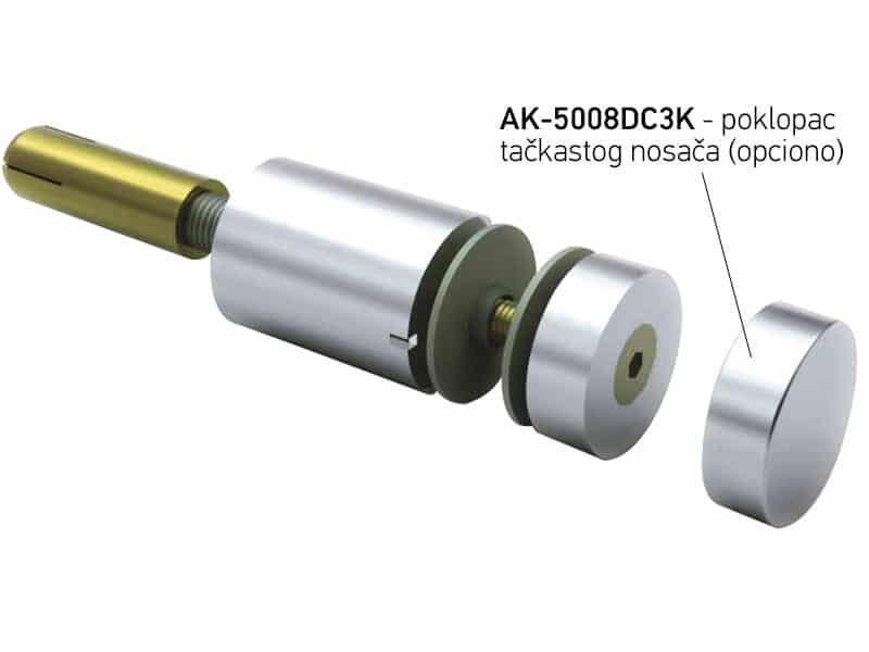 Fiksni tačkasti nosač AK-5008DC3