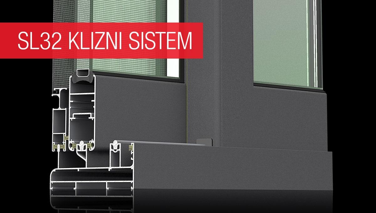 Asistal SL32 klizni sistem bez termo prekida