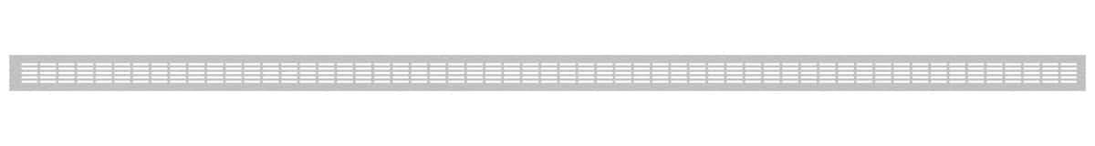 VRS-008 ventilaciona rešetka 66×1980 mm