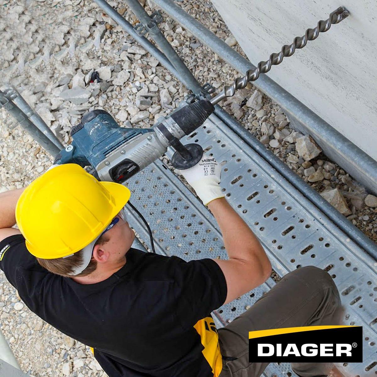 Diager burgije za beton