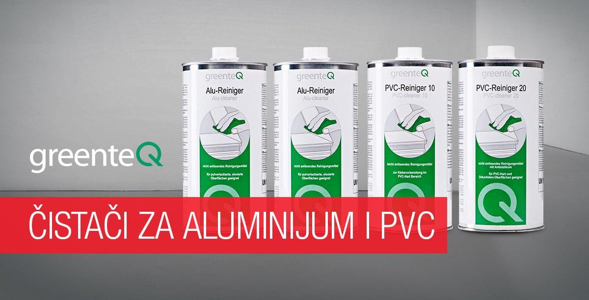 GreenteQ čistači za aluminijum i PVC