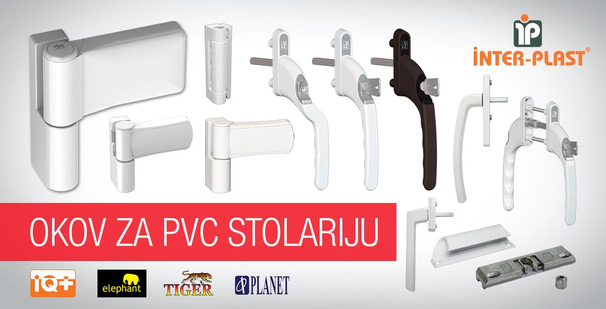 Interplast okov za PVC stolariju