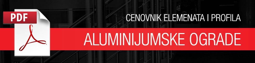 PDF cenovnik aluminijumske ograde