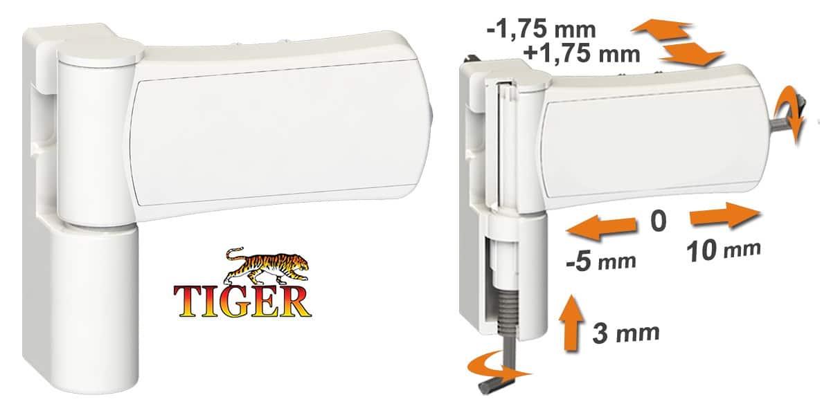 Tiger 3D šarka