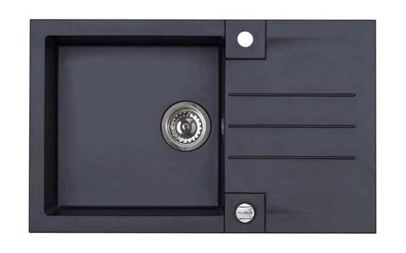 Kuhinjska sudopera Alveus Rock 130 granit crna G91