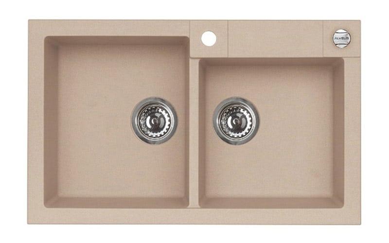 Kuhinjska sudopera Alveus Rock 90 granit bež G55