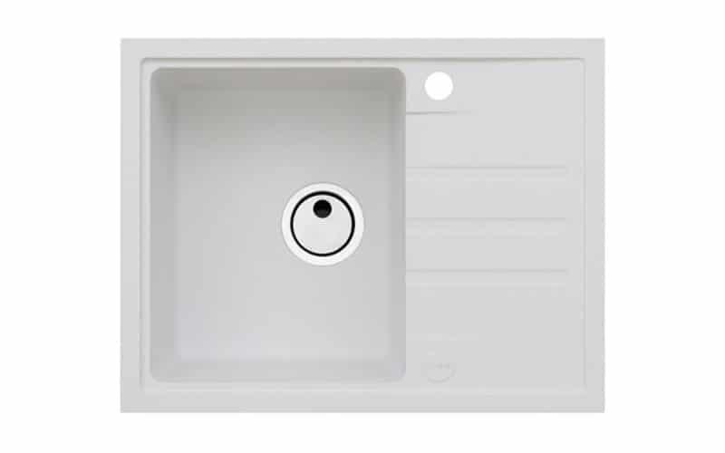 Kuhinjska sudopera Alveus Intermezzo 30 granit bela G11