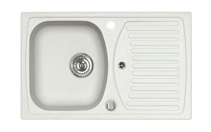 Kuhinjska sudopera Alveus Record 30 granit bela G11