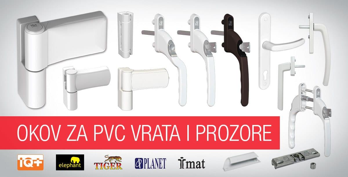 Okov za PVC vrata i prozore