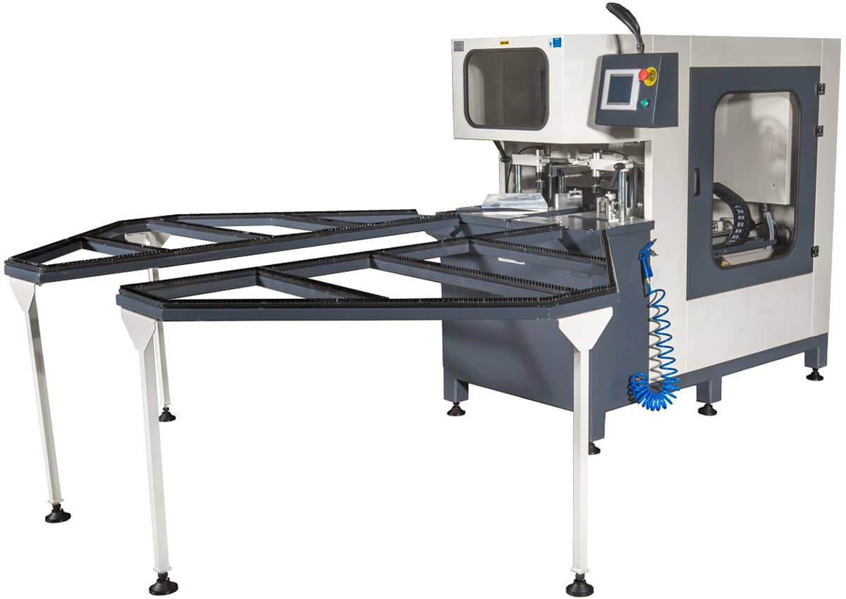 Orbit IV SA PLC Controlled Semi-Automatic PVC Corner and Surface Cleaning Machine