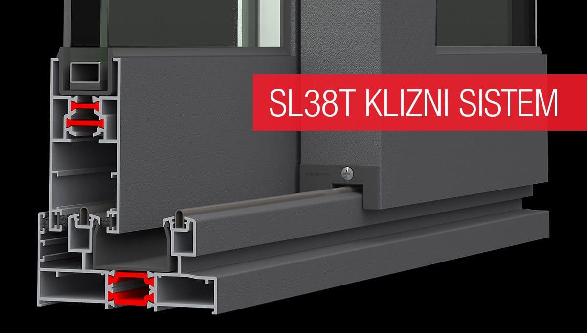 Asistal SL38T klizni sistem sa termo prekidom