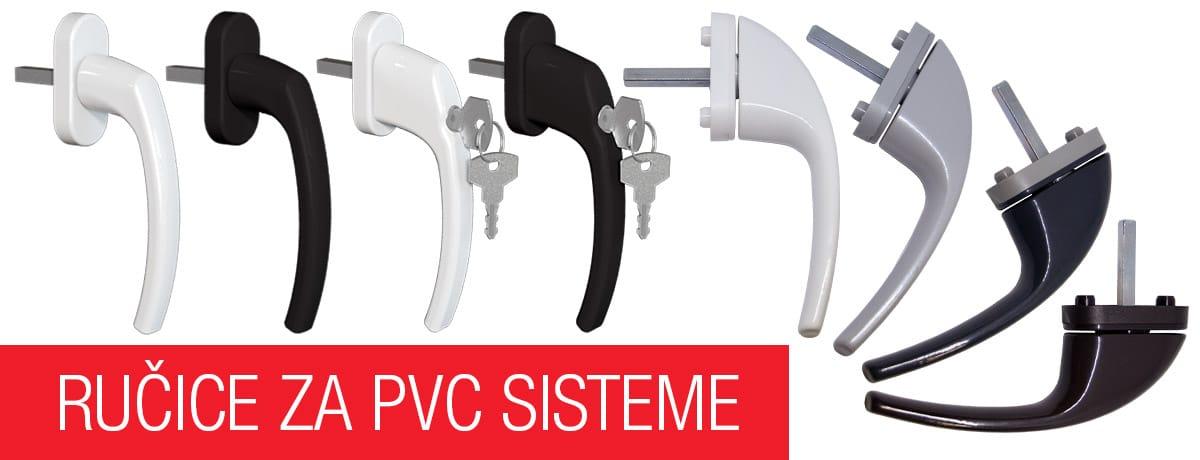 Ručice za PVC sisteme