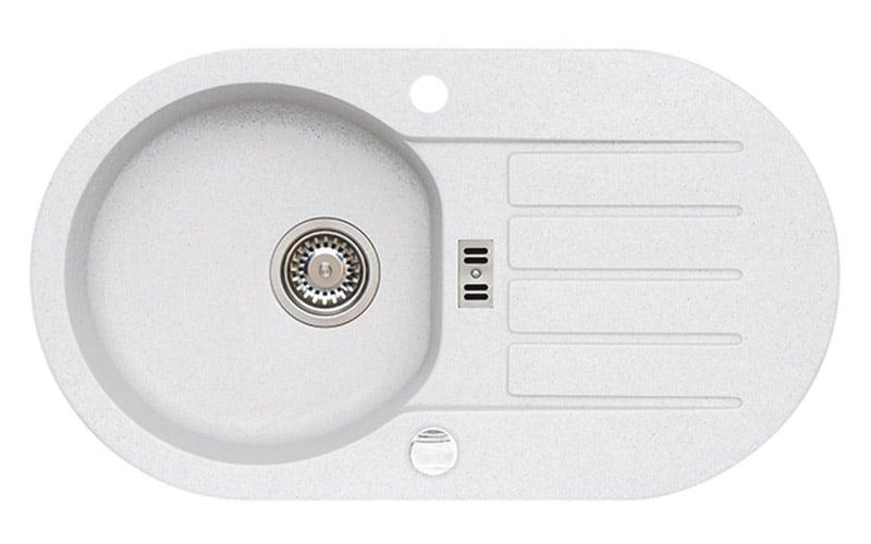 Kuhinjska sudopera Alveus Niagara 40 granit bela G11