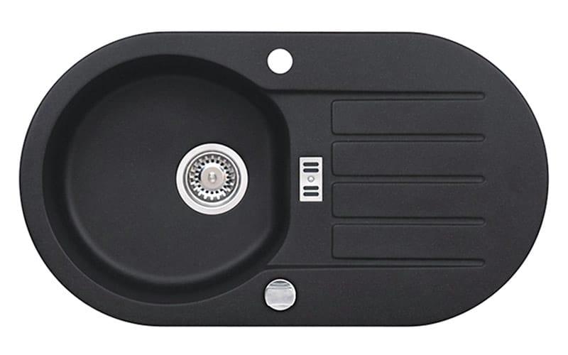 Kuhinjska sudopera Alveus Niagara 40 granit crna G91