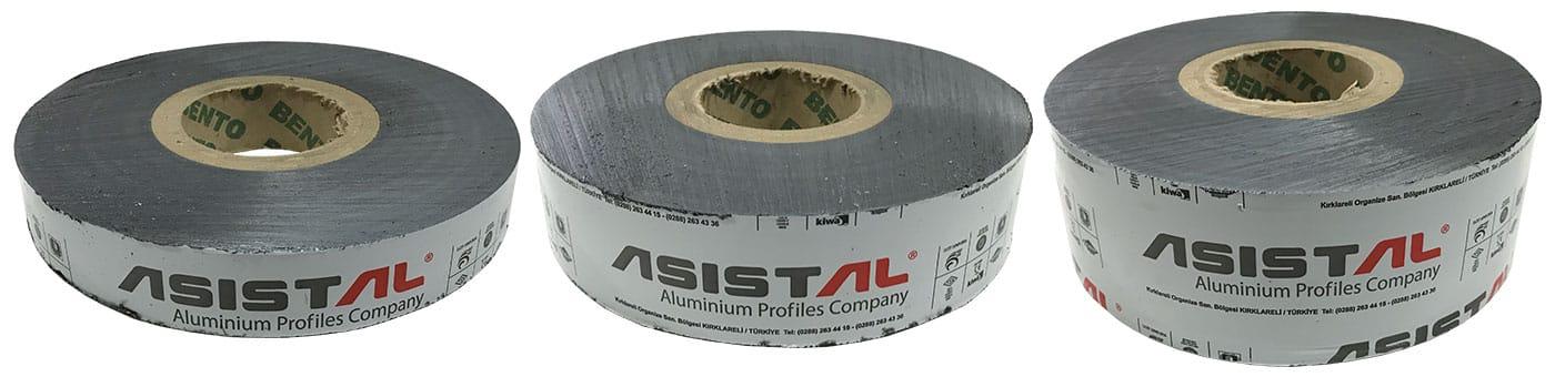Set Asistal zaštitnih traka za aluminijumske sisteme