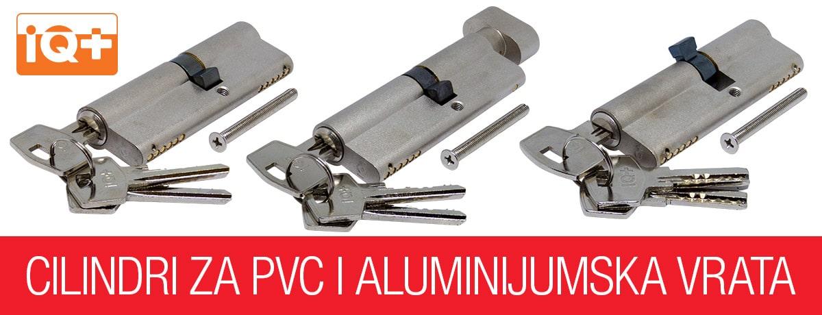 IQ+ cilindri za PVC i aluminijumska vrata