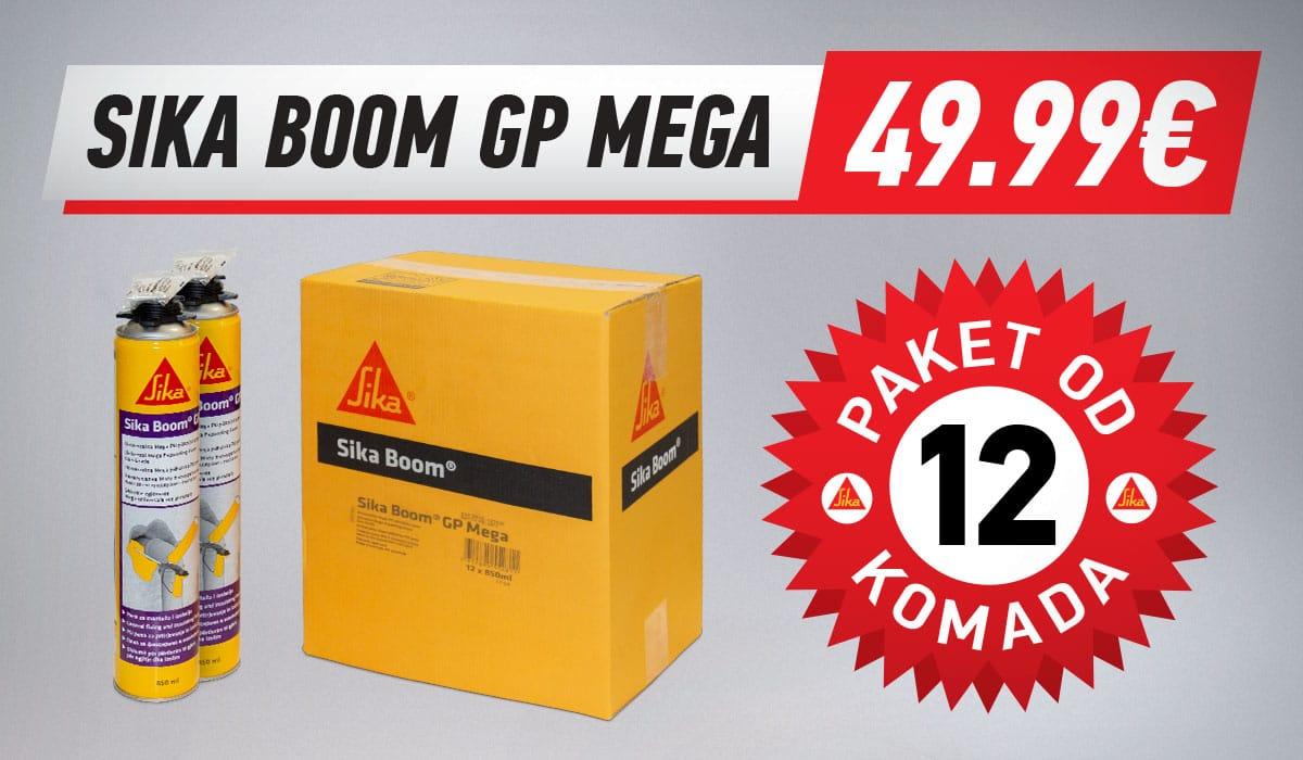 Sika Boom GP MEGA pena paket od 12 komada