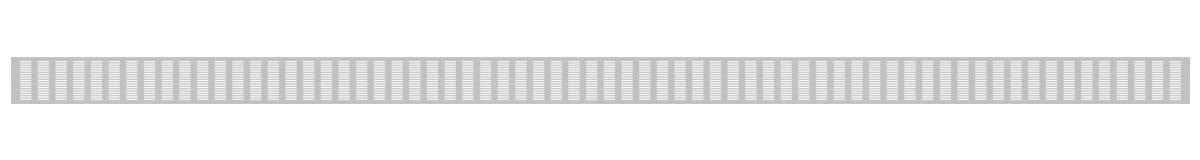 VRS-002C ventilaciona rešetka 120x3000mm