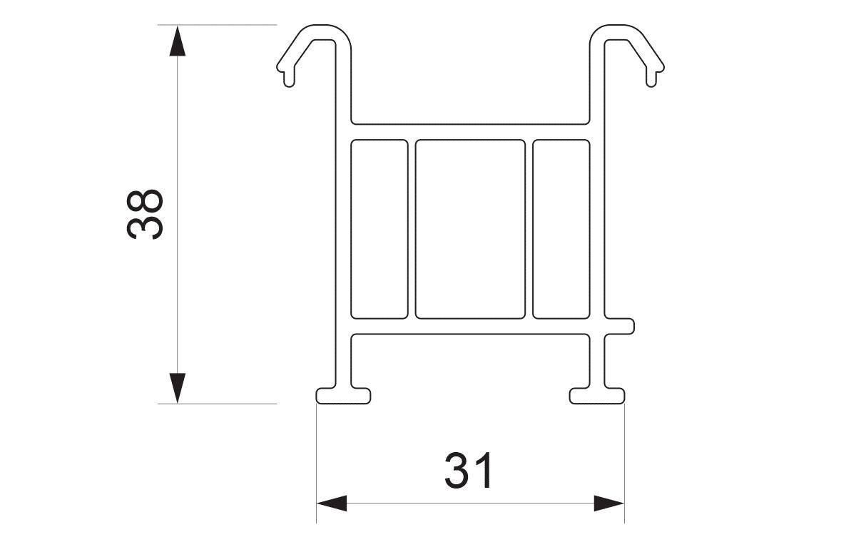 Podštok za PVC sisteme Sunny Plast