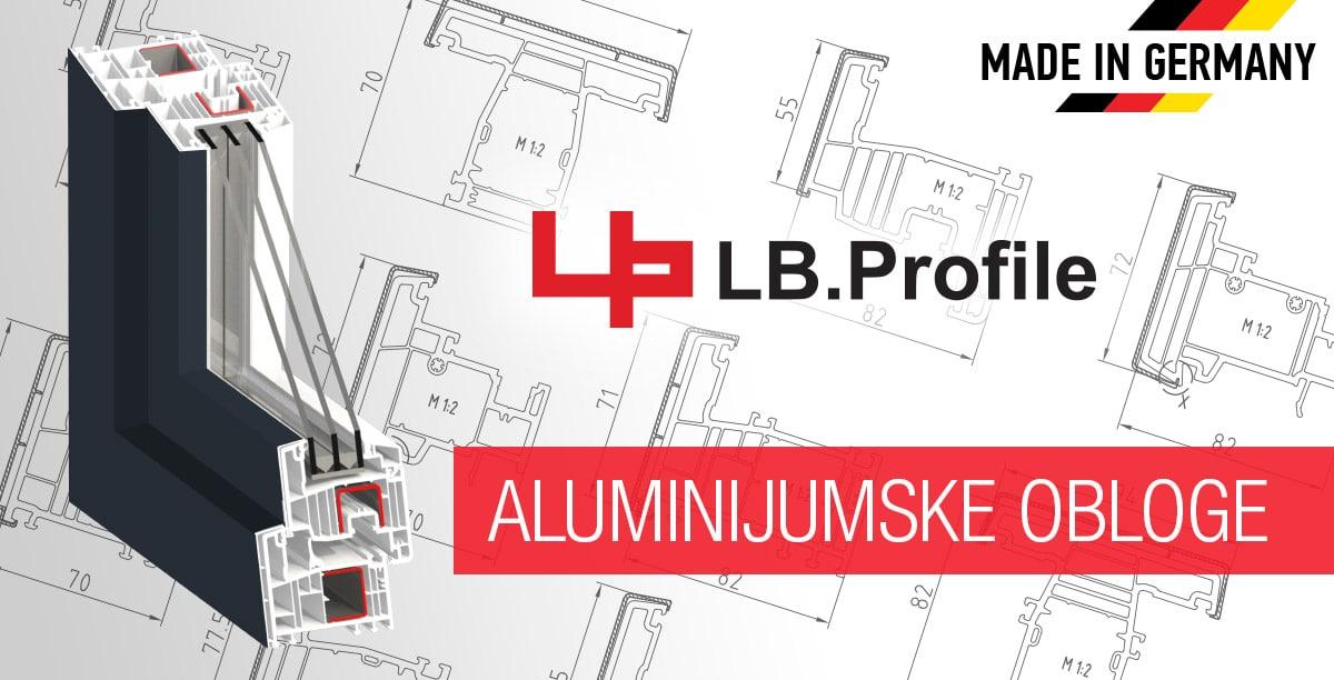 LB.Profile aluminijumske obloge