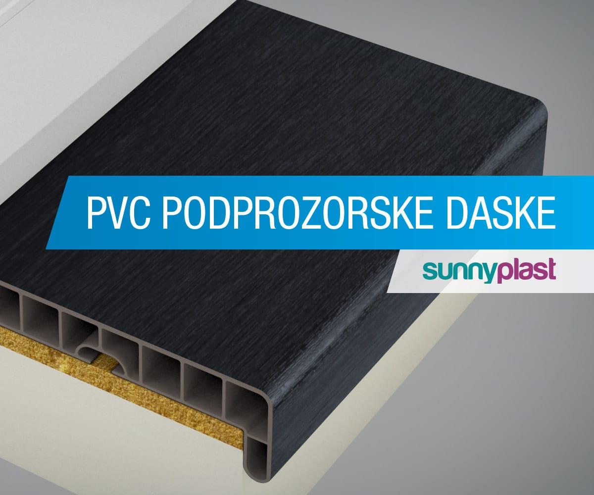 PVC podprozorske daske