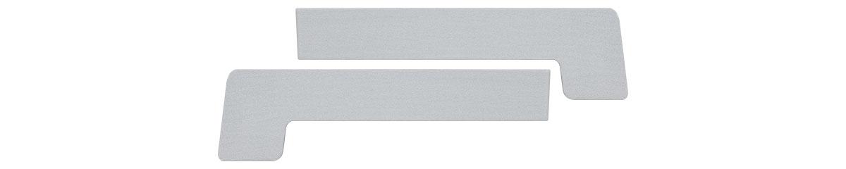 CEP-E0-150MM - Elox aluminijumski čep za okapnicu 150 mm