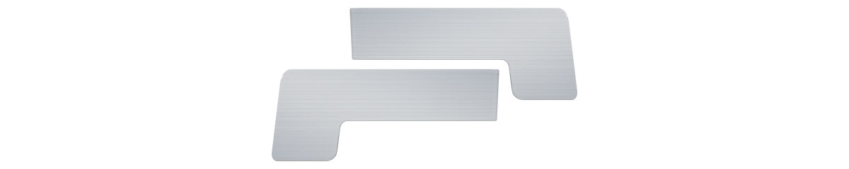 CEP-SIROVI-100MM - Sirovi aluminijumski čep za okapnicu 100 mm