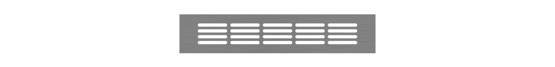 VRS-000A - Ventilaciona rešetka 60×300 mm
