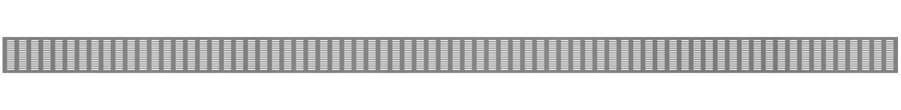 VRS-002C - Ventilaciona rešetka 120×3000 mm