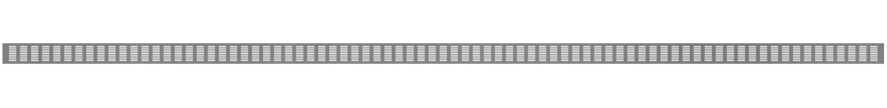 VRS-002D - Ventilaciona rešetka 70×3000 mm