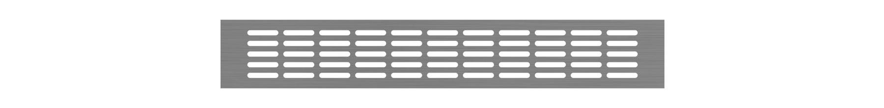 VRS-004 - Ventilaciona rešetka 66×430 mm