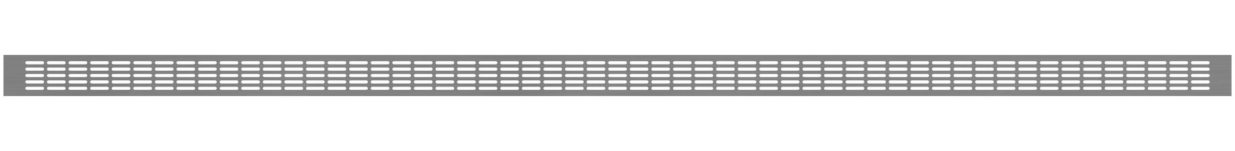 VRS-008 - Ventilaciona rešetka 66×1980 mm