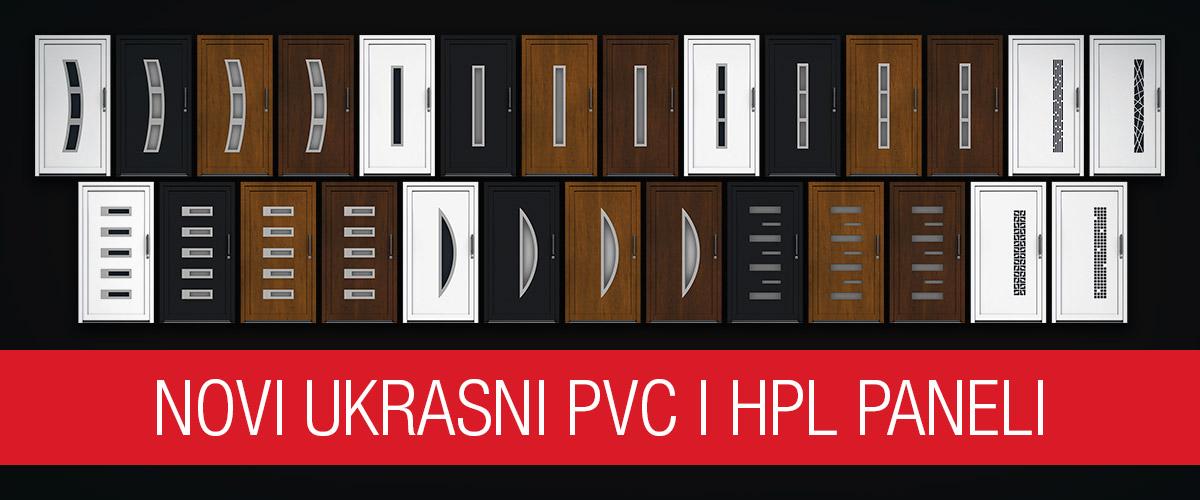 Novi ukrasni PVC i HPL paneli