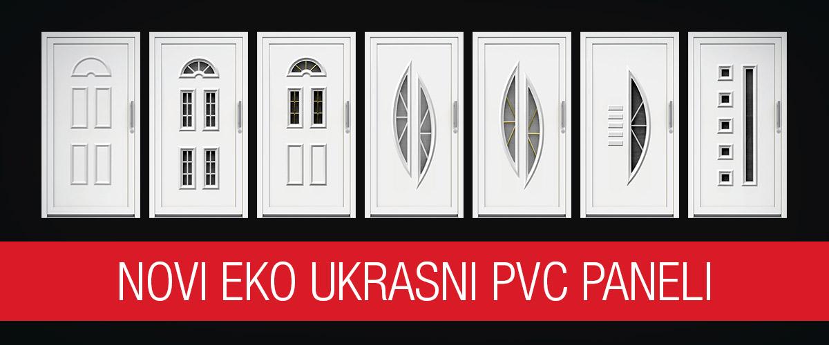 Novi eko ukrasni PVC paneli