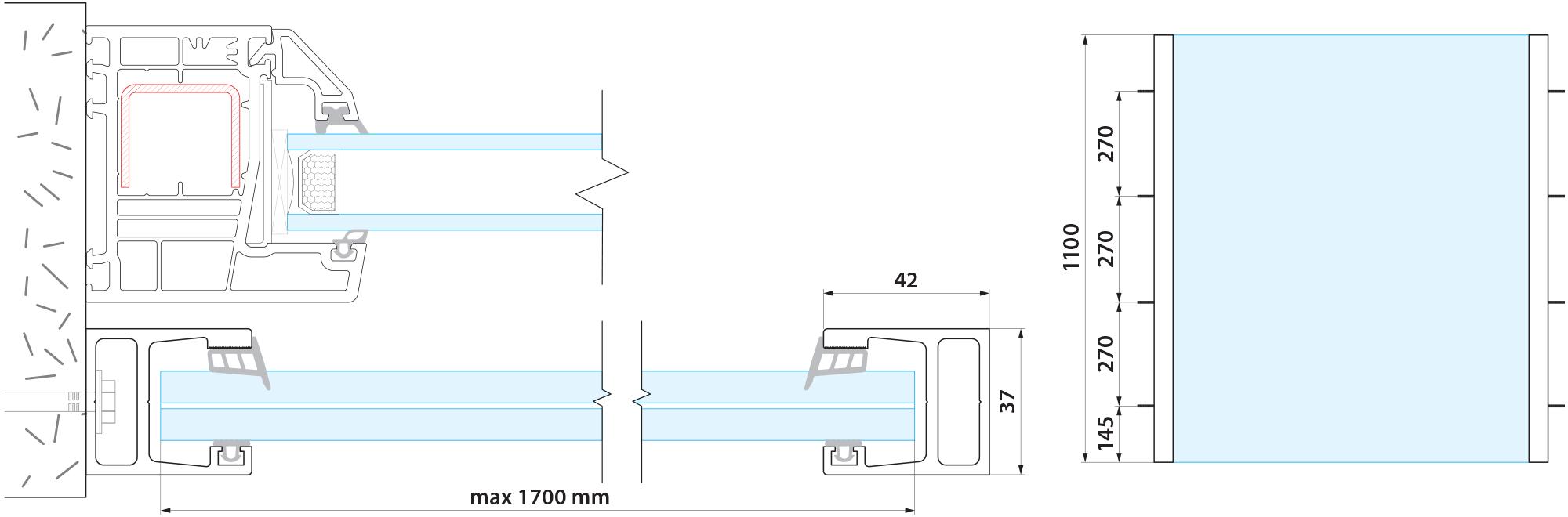 J100 tehnički detalji