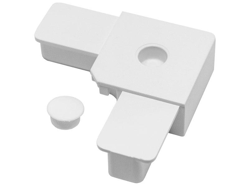 PFK-002 - PVC ugao sa čepom za profil 17×32