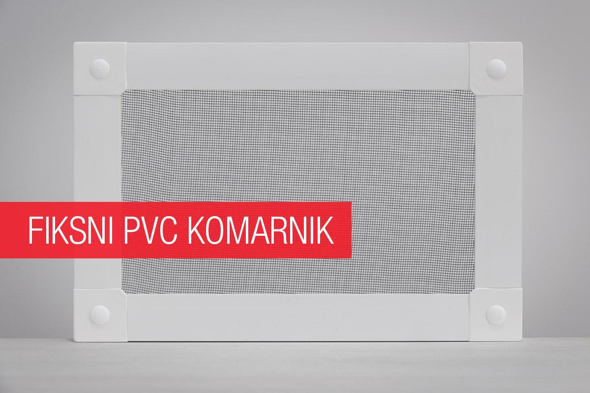 Fiksni PVC komarnik