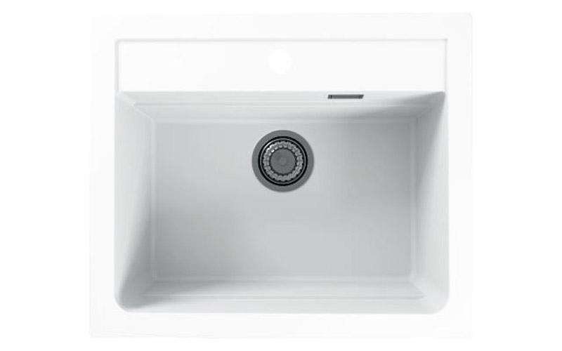 Kuhinjska sudopera Alveus Atrox 30 granit bela G11