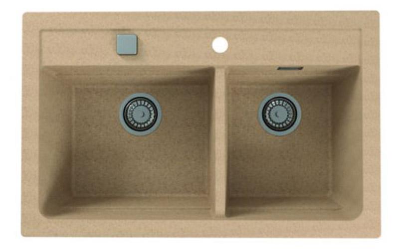 Kuhinjska sudopera Alveus Atrox 50 granit bež G55