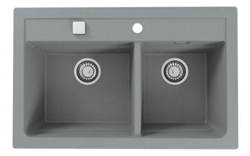 Kuhinjska sudopera Alveus Atrox 50 granit siva G81
