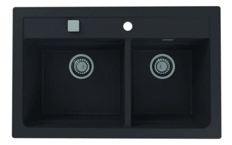 Kuhinjska sudopera Alveus Atrox 50 granit crna G91