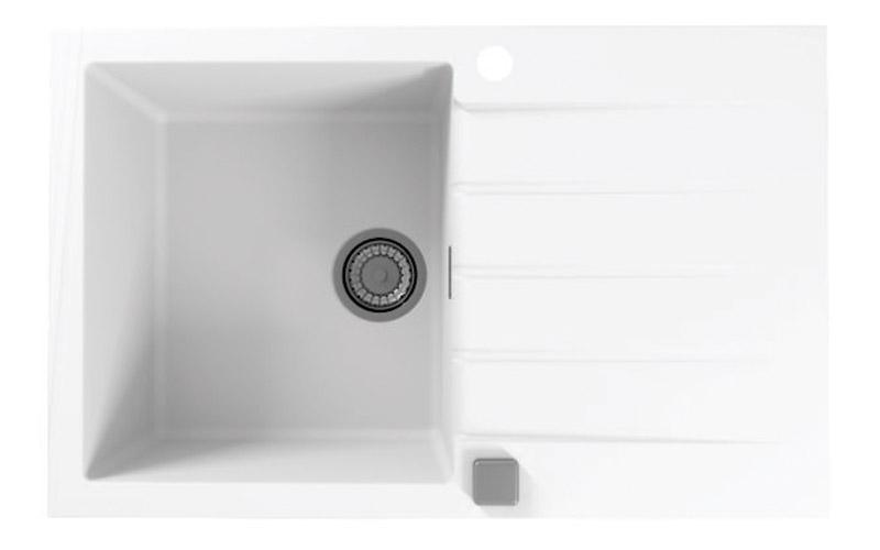 Kuhinjska sudopera Alveus Cadit 20 granit bela G11