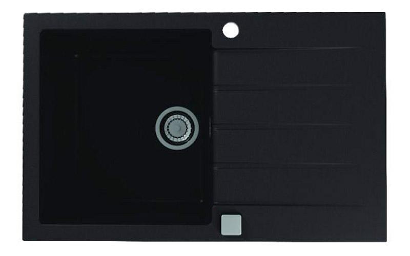 Kuhinjska sudopera Alveus Cadit 20 granit crna G91