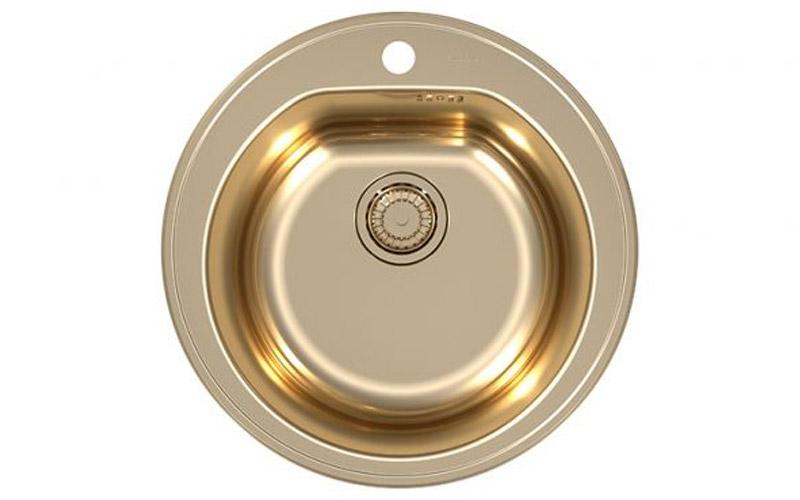 Kuhinjska sudopera Alveus Form 30 Monarch Bronze