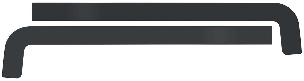 CEP-300 ANTRACIT - Antracit PVC čepovi 300 mm za aluminijumske okapnice
