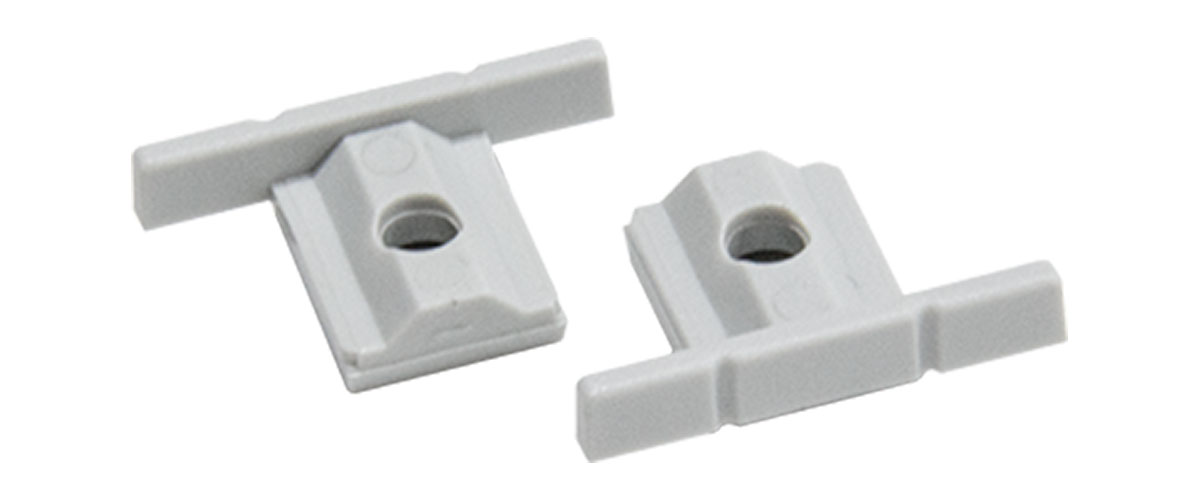 DKT-7035-BS - PVC čepovi za jednokanalni nosač četkice