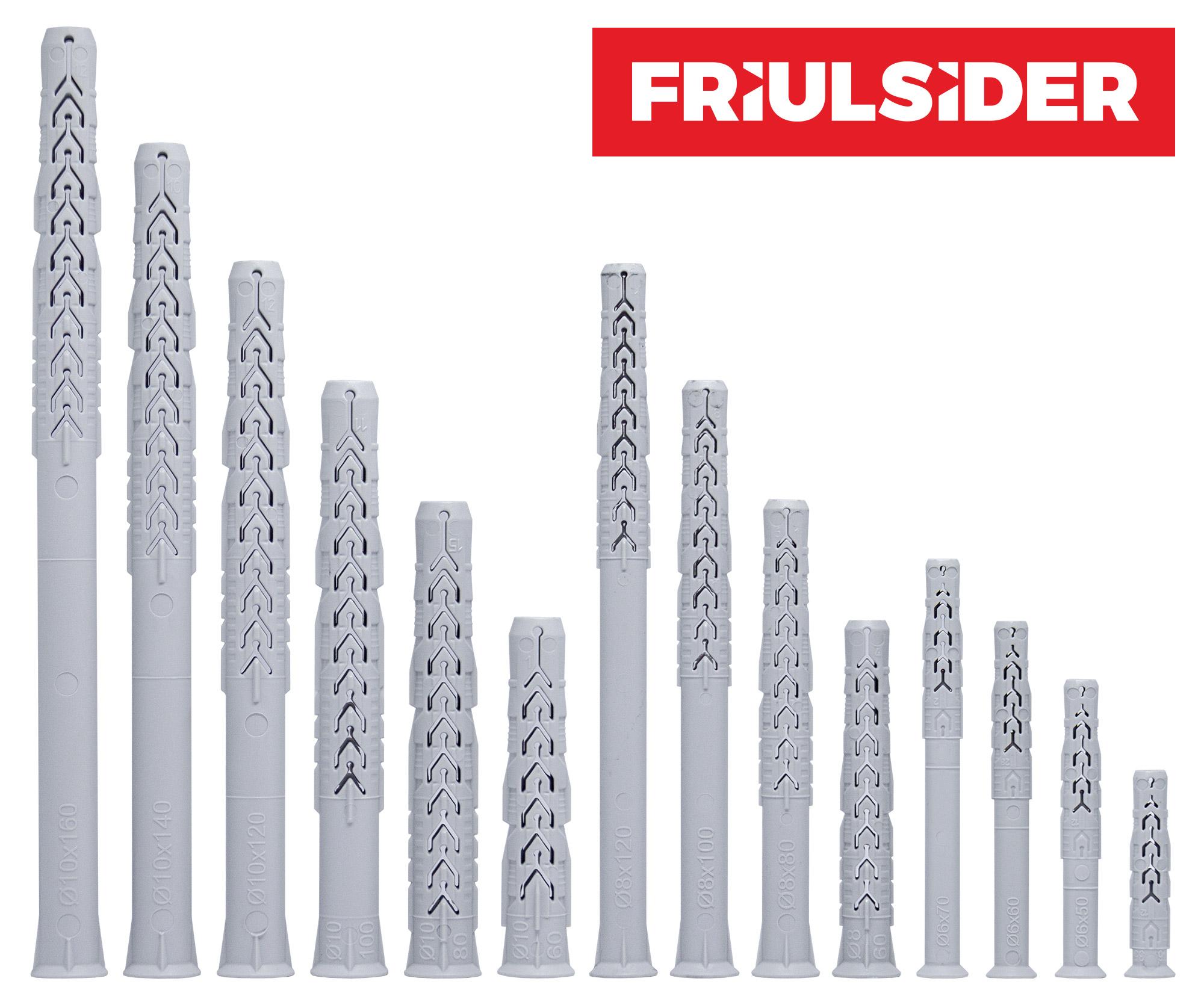 Friulsider najlonski tiplovi X3