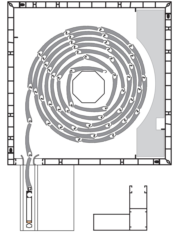 PVC roletna sa alu zastorom i vodilicom sa dodatkom